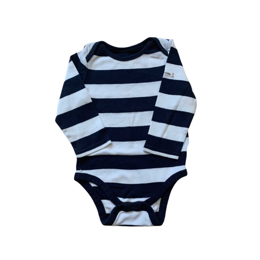 Striped  Gap Onesie, 6-12 Months