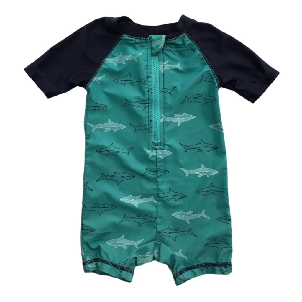 Teal Old Navy Swimsuit, 6-12 Months