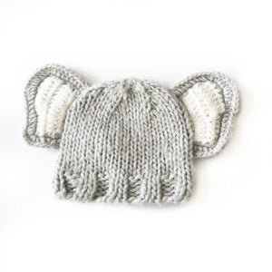 Grey So 'dorable Elephant Hat, 0-3 Months