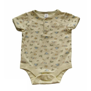 Yellow Gap Onesie, 3-6 Months