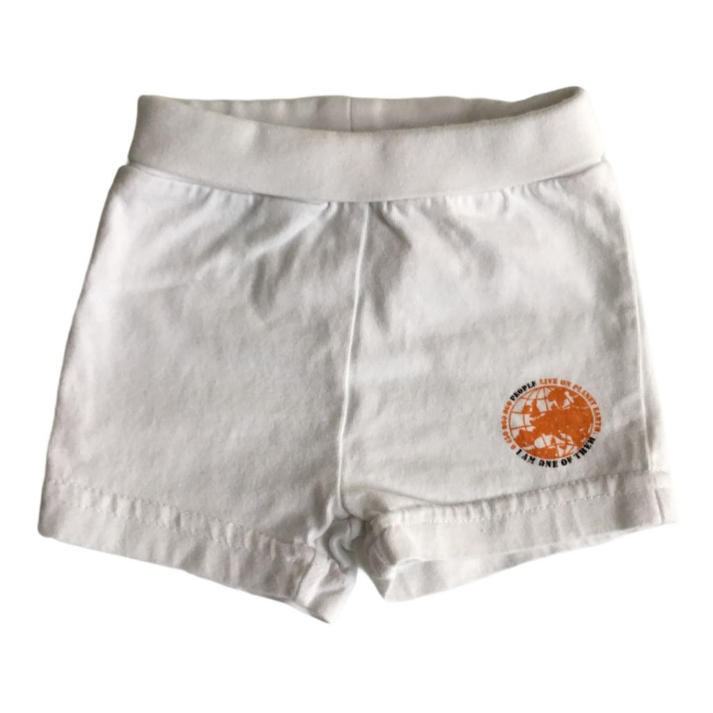 White H&M Shorts, 1-2 Months