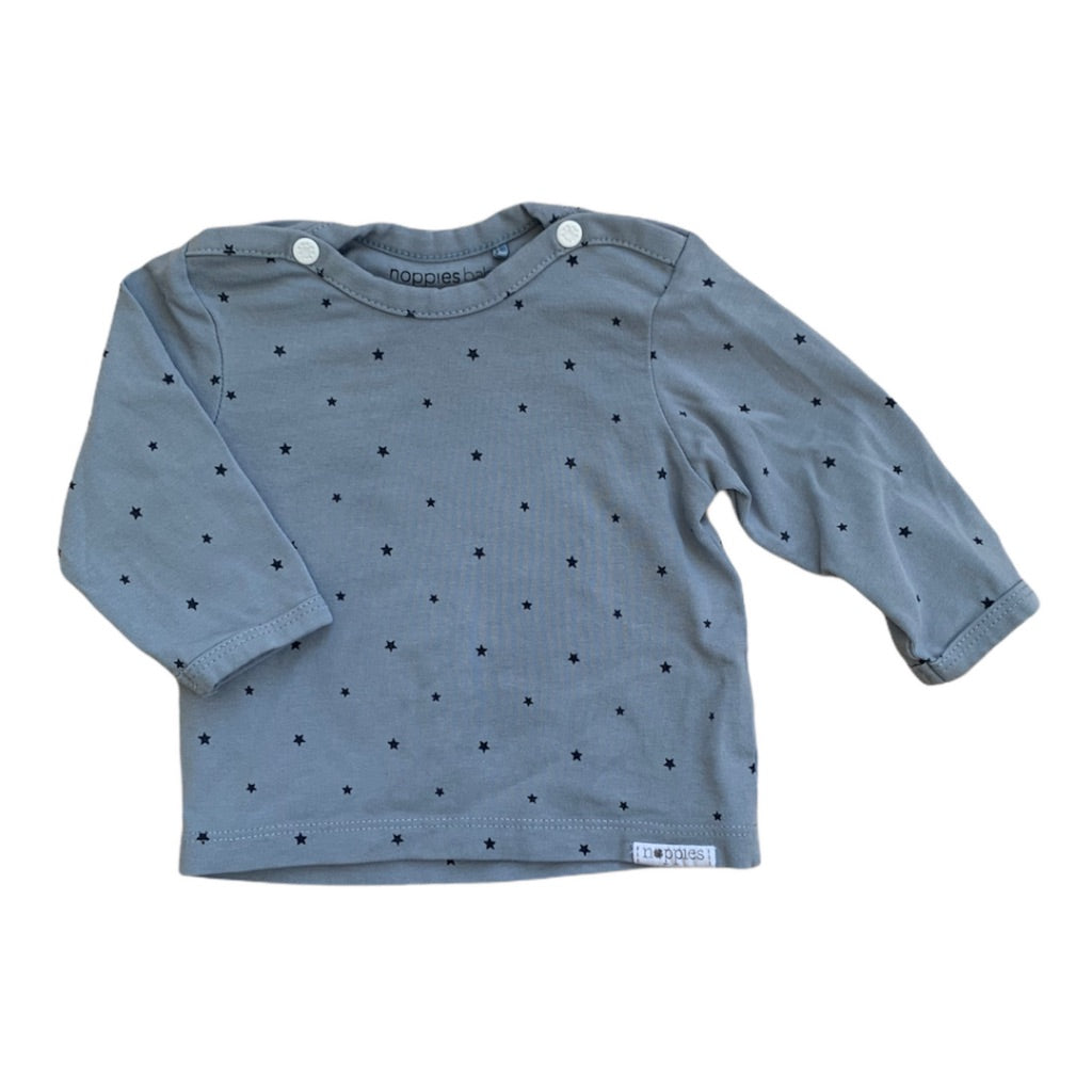 Blue Noppies Shirt, 0-1 Months