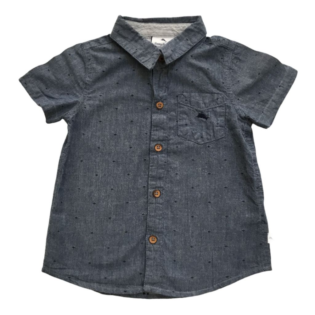 Blue Tommy Bahama Dress Shirt, 4 Years