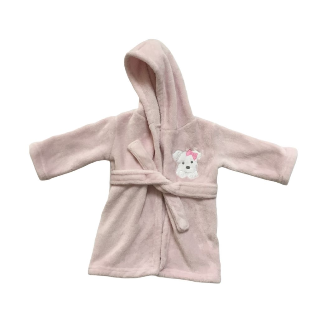 Light Pink Blankets & Beyond House Coat, 12-24 Months