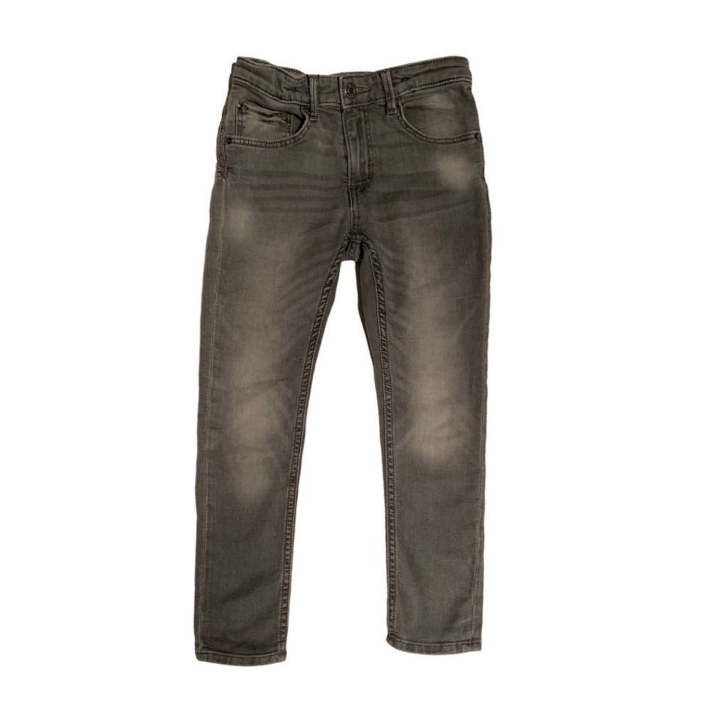 Grey & Denim Jeans, 6-7 Years