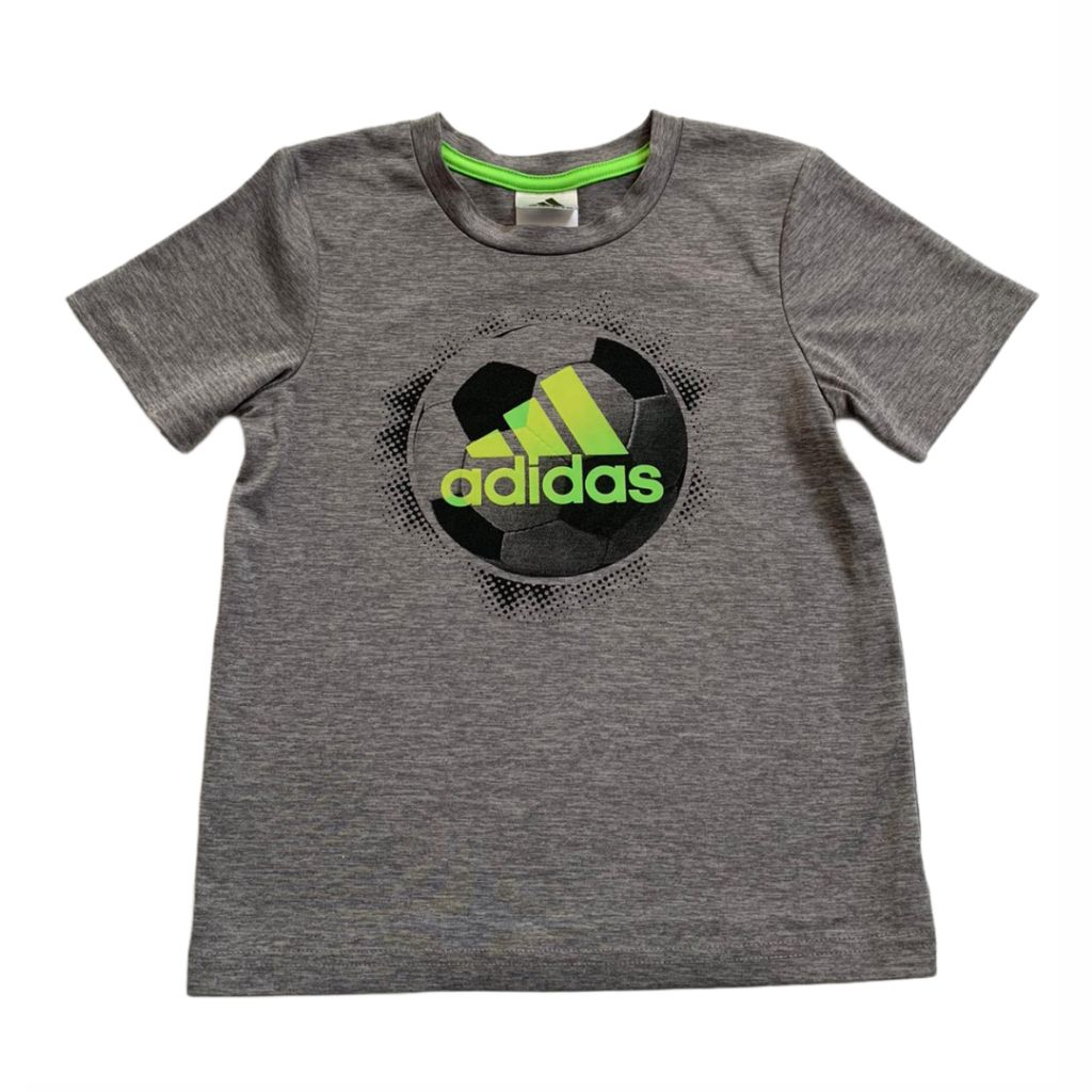Grey Adidas T-Shirt, 4 Years