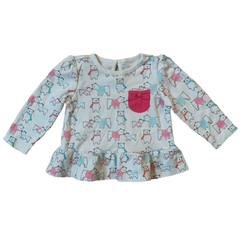 Multi Gymboree Shirt, 12-18 Months