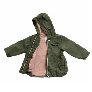 Green Old Navy Jacket, 12-18 Months
