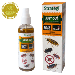 Herbal Strategi Cockroach Repellent Spray (Just Out) - 100 ml