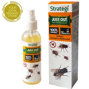 Herbal Strategi Natural Housefly Repellent Spray (Just Out) - 100 ml