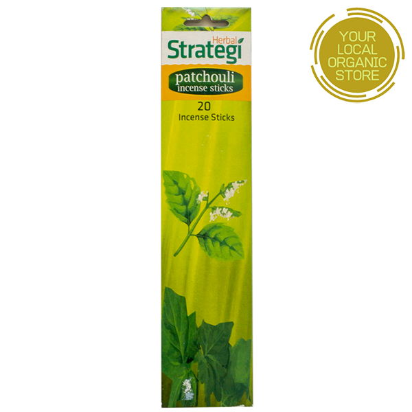 Herbal Strategi Patchouli Aromatic Incense Sticks