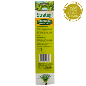 Herbal Strategi Citronella Aromatic Incense Sticks