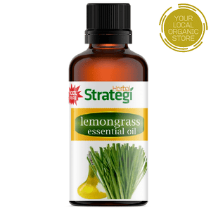 Herbal Strategi Lemongrass Essential Oil - 50 ml