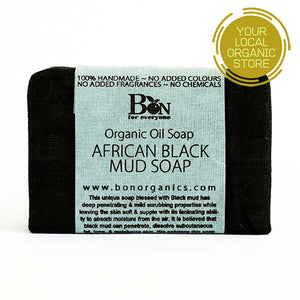 African Black Mud Soap