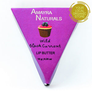 Amayra Naturals Black Currant Lip Butter