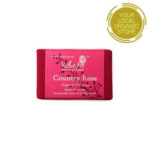 Rustic Art Country Rose Soap