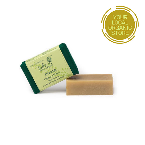 Rustic Art Neem Soap