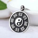 bagua pendant black and white