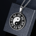 Bagua Necklace stainless steel