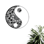 Yin Yang Wall Decal