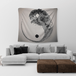 yin yang tree of life tapestry
