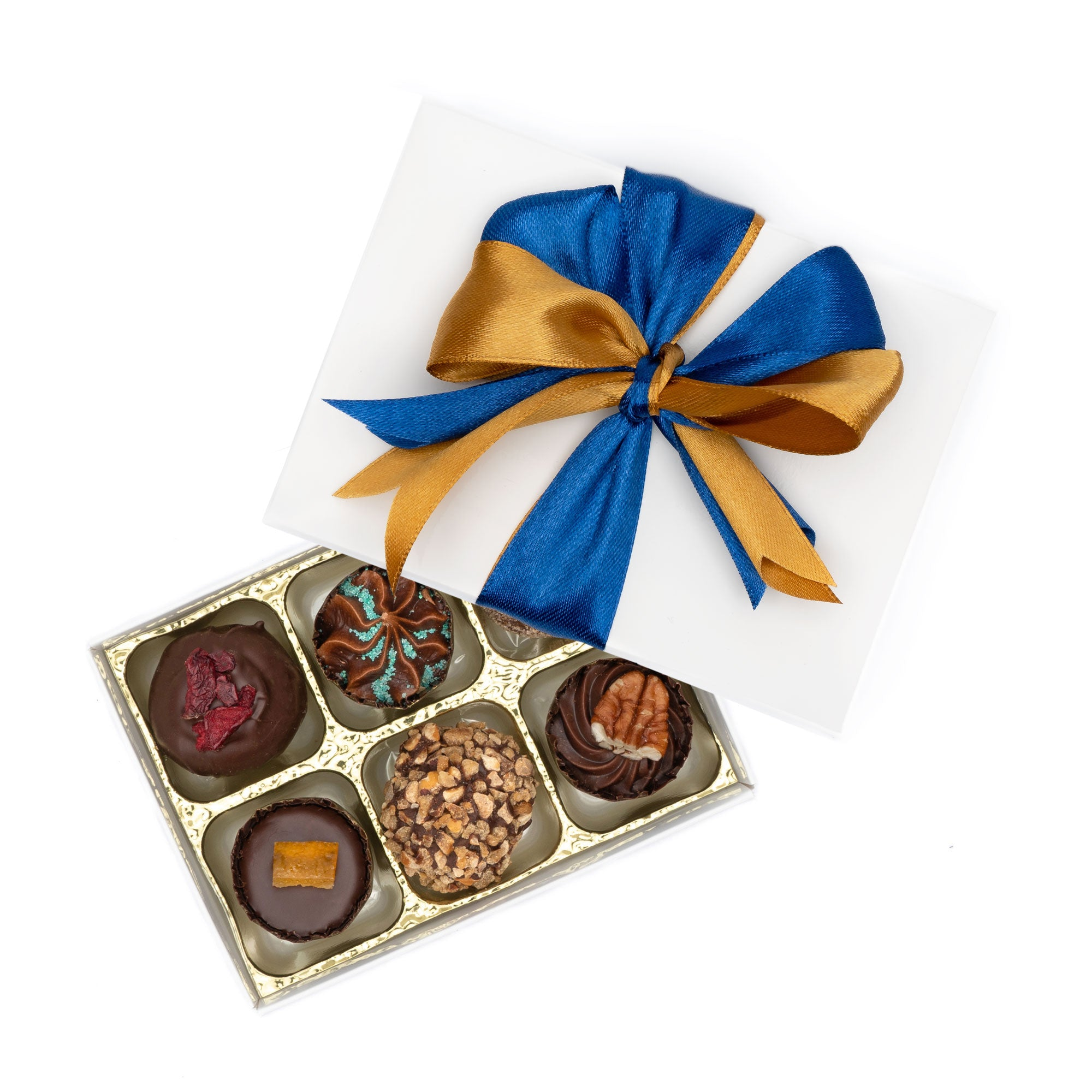 Artisan Vegan Chocolate - Box of 6 - by Misco's Chocolates