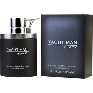 Yacht Man Black 100ml EDT (M)
