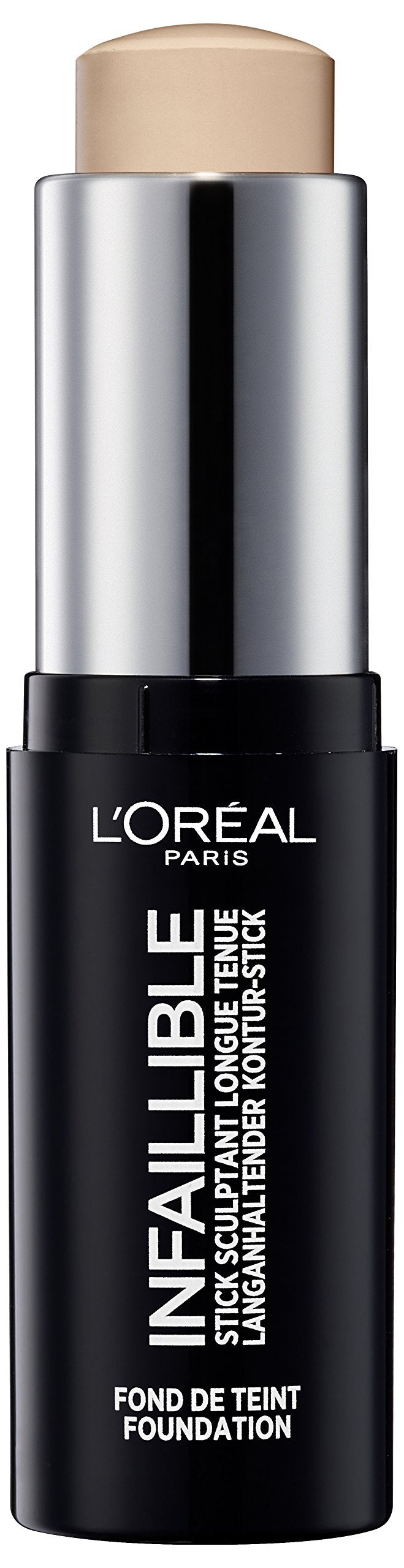 Loreal 9G Infaillible Foundation Longwear Shaping Stick 180 Radiant Beige