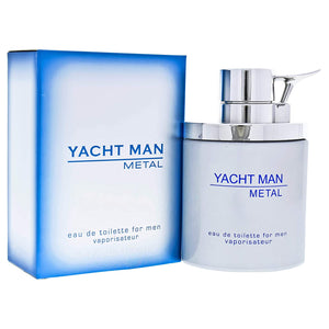 Yacht Man Metal 100ml EDT (M)