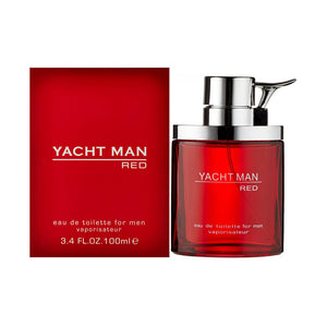 Yacht Man Red 100ml EDT (M)