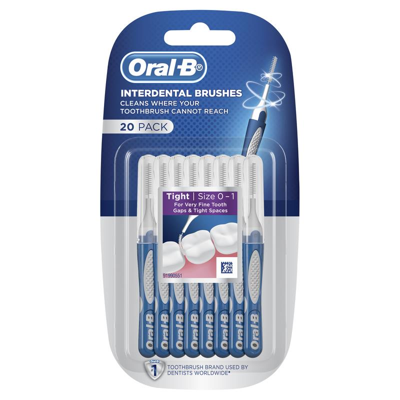 Oral B Pk20 Interdental Brushes