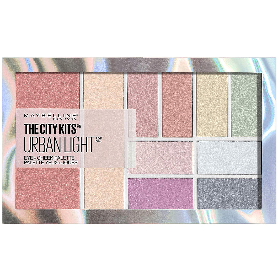 Maybelline The City Kits All-in-One Eye & Cheek Palette Urban Light
