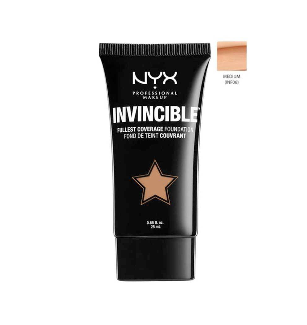 NYX 25Ml Invincible Foundation Inf06 Medium