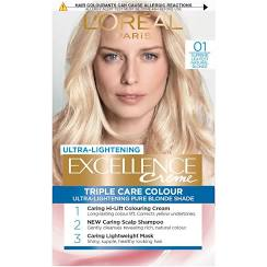 LOreal Excellence Creme Hair Colour 01 Very Light Natural Blonde