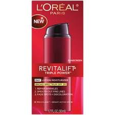 LOreal Revitalift Triple Power Day Lotion Moisturizer Spf 20