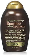 Load image into Gallery viewer, OGX 385Ml Conditioner Hydrate & Colour Reviving + Bamboo Radiant Brunette