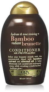 OGX 385Ml Conditioner Hydrate & Colour Reviving + Bamboo Radiant Brunette