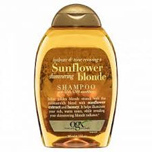 Load image into Gallery viewer, OGX 385Ml Shampoo Sunflower Shimmering Blonde