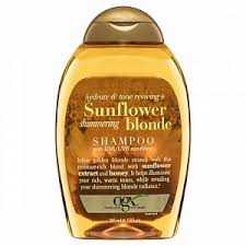 OGX 385Ml Shampoo Sunflower Shimmering Blonde