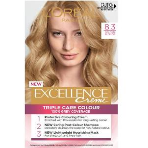 LOreal Excellence Creme Hair Colour 9.3 Light Golden Blonde