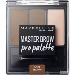Maybelline Master Brow Pro Palette Kit - Soft Brown