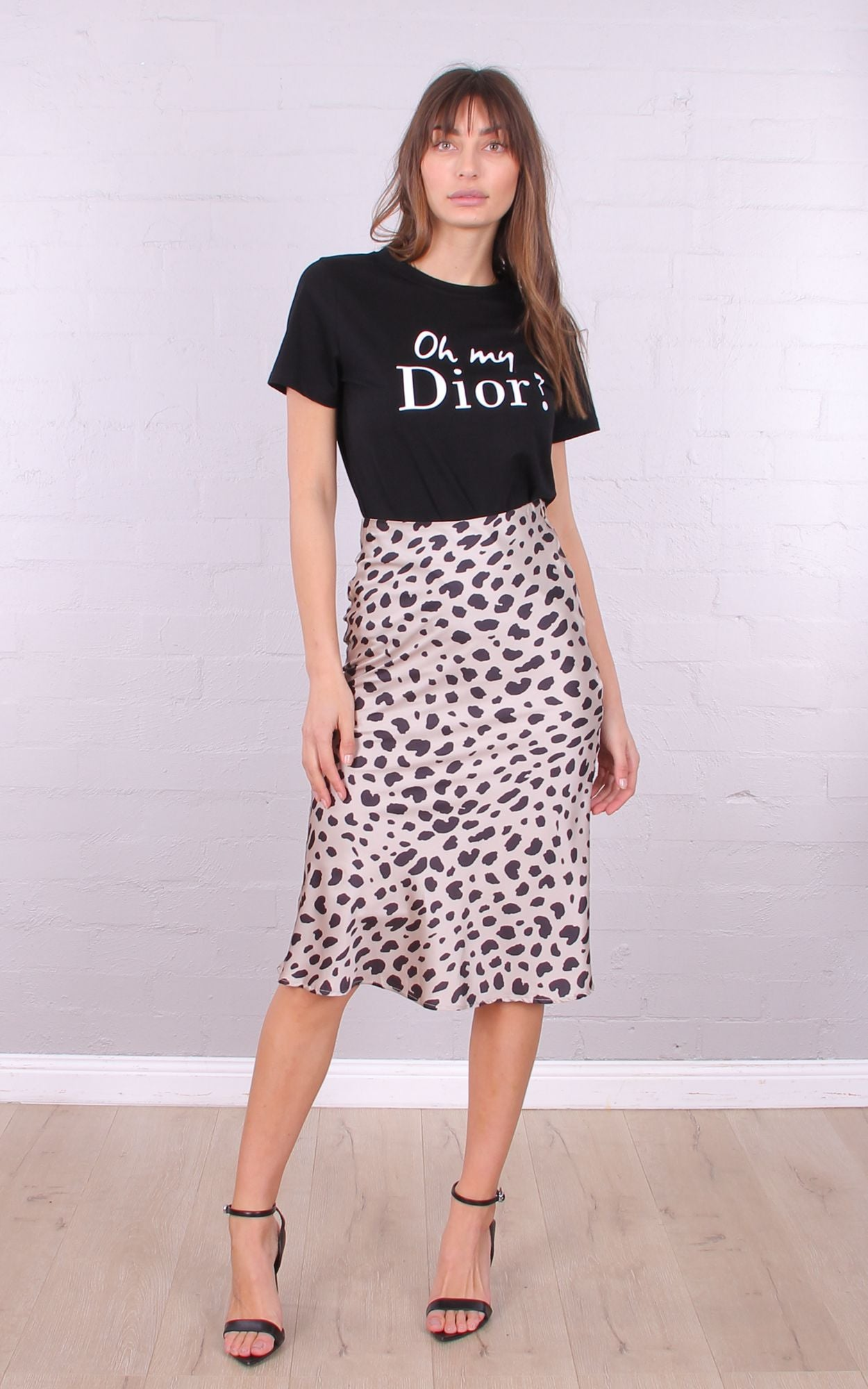 dbe58a3cc1fc9a Oh my Dior! Tee- Black - My Girl Lollipop Boutique