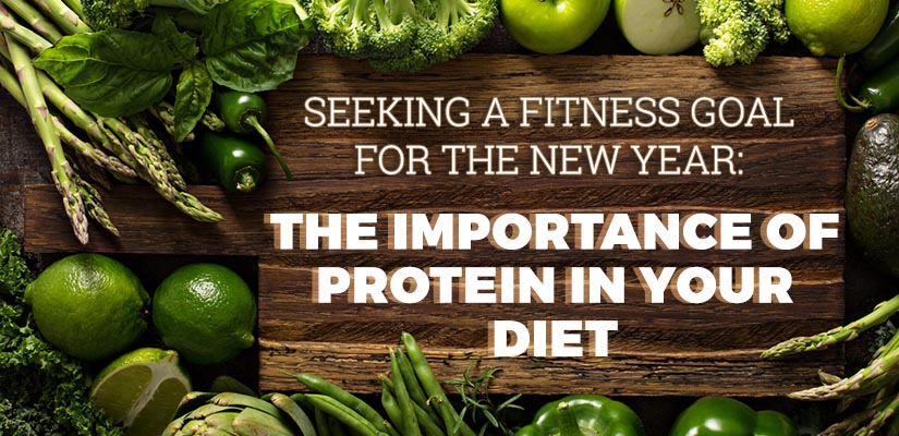 Seeking a Fitness Goal for the New Year: The Importance of Protein in Your Diet