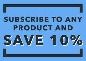 subscribe to any product and save 10%