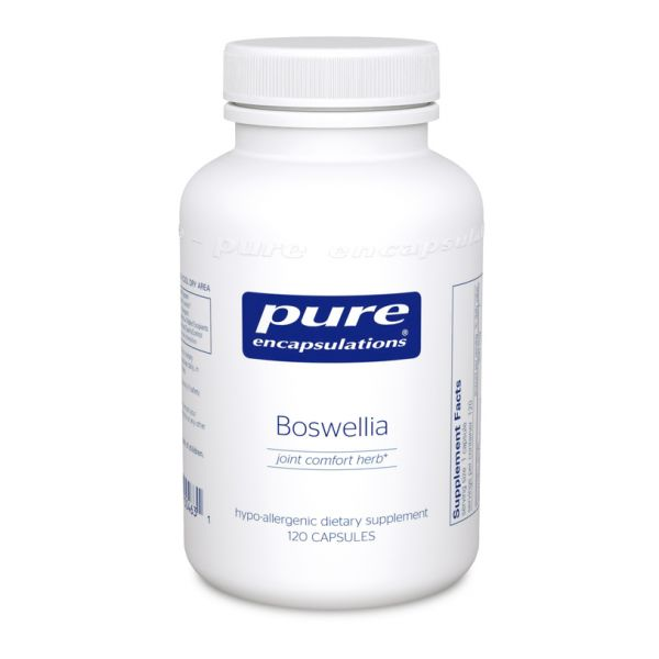 Boswellia (reformulated) 120 vegetarian capsules by Pure Encapsulations