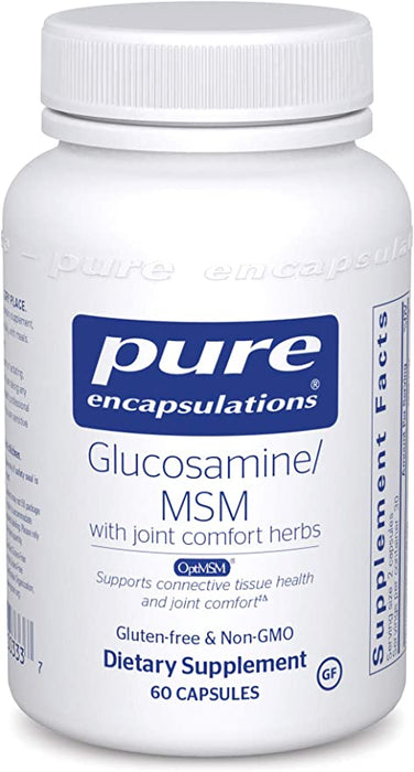Glucosamine MSM with Joint Comfort 60 vegetarian capsules by Pure Encapsulations