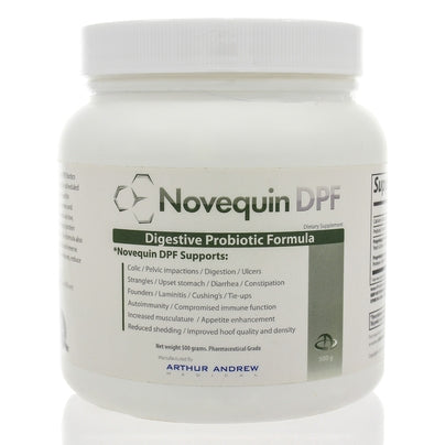 Novequin DPF (Digestive Probiotic Formula) Equine 500 Grams by Arthur Andrew Medical