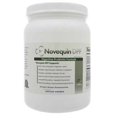 Novequin DPF (Digestive Probiotic Formula) Equine 1000 Grams by Arthur Andrew Medical
