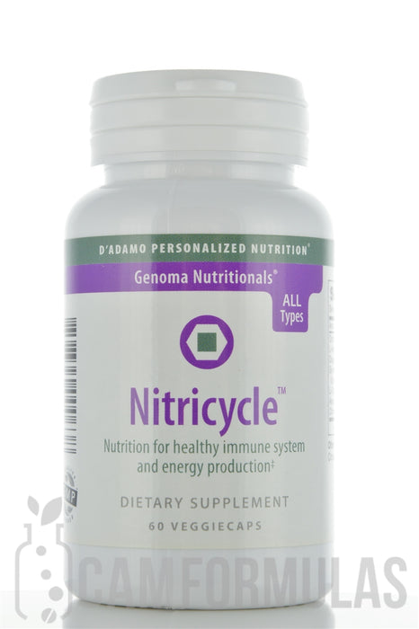 Nitricycle 60 vegetarian capsules by D'Adamo Personalized Nutrition