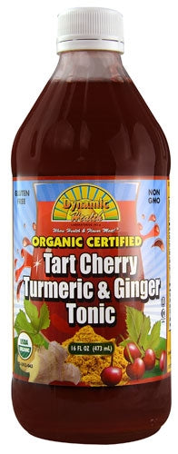 Tart Cherry Tumeric & Ginger Tonic 16 oz by Dynamic Health Laboratories Inc
